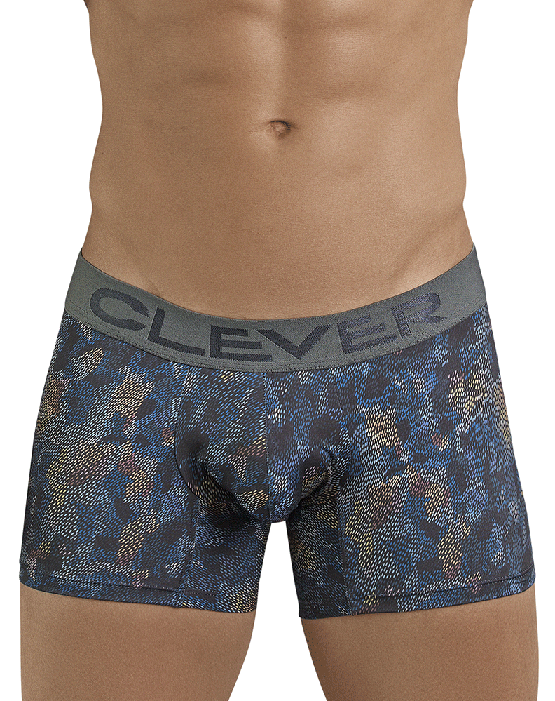 Clever 2389 High Class Boxer Briefs Dark Blue - StevenEven.com