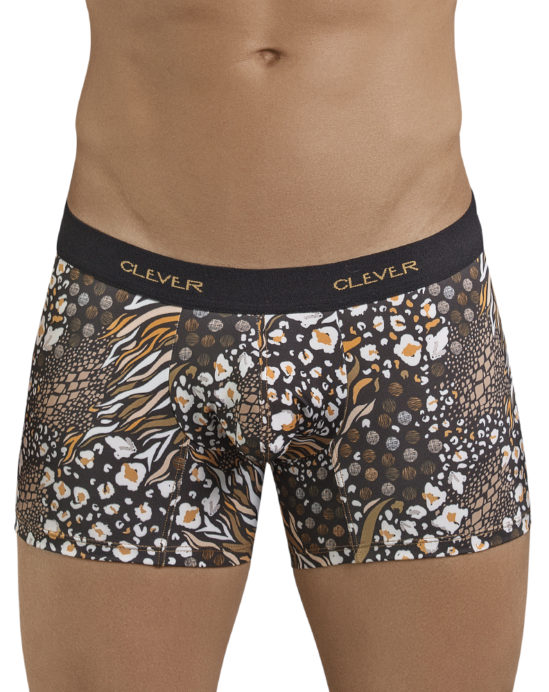 Clever 2391 Pepper Boxer Briefs Black - StevenEven.com