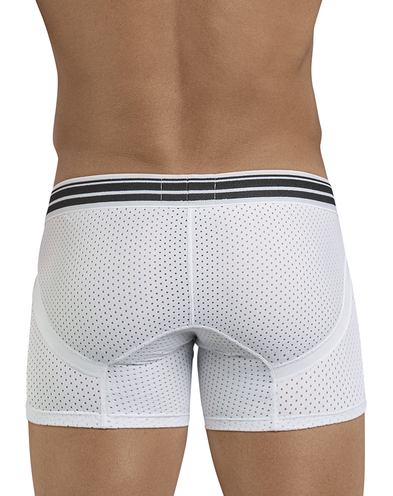 Clever 2397 Fancy Boxer Briefs White - StevenEven.com