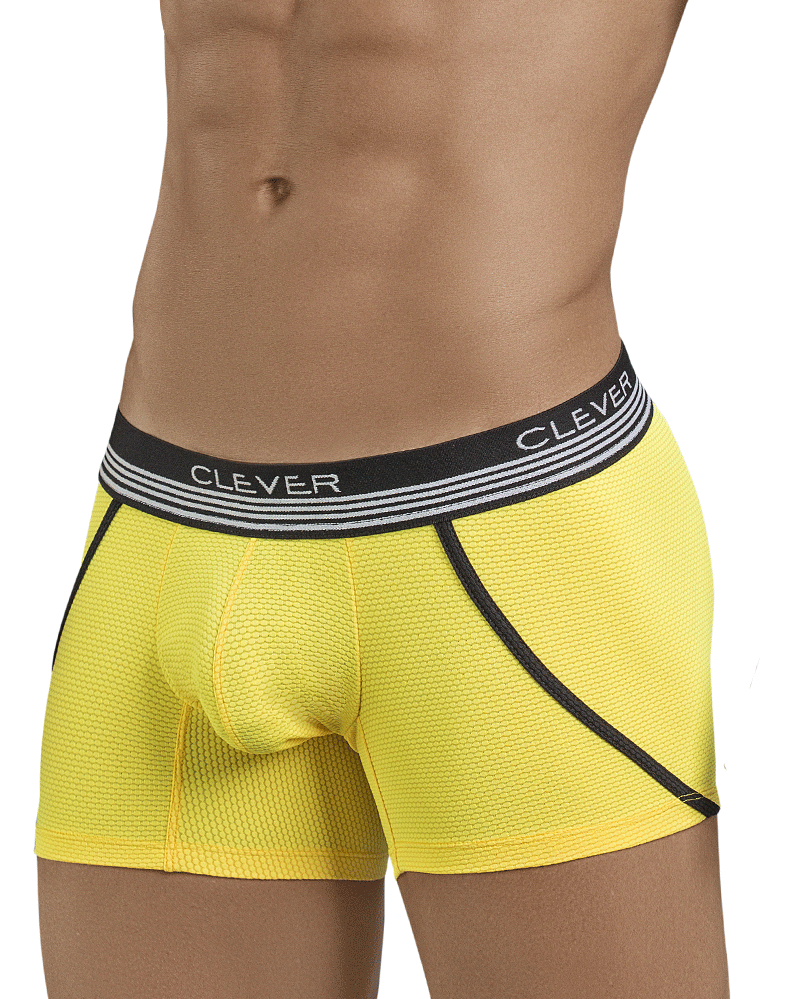 Clever 2398 Lovely Boxer Briefs Yellow