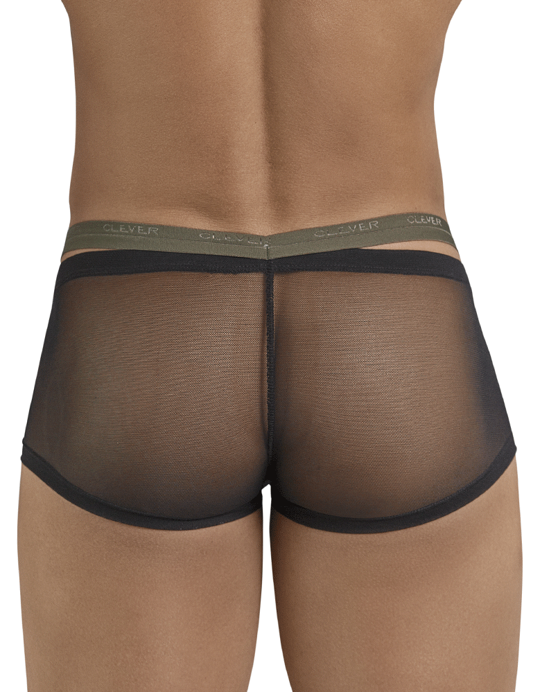 Clever 2400 Gorgeous Latin Boxer Briefs Black