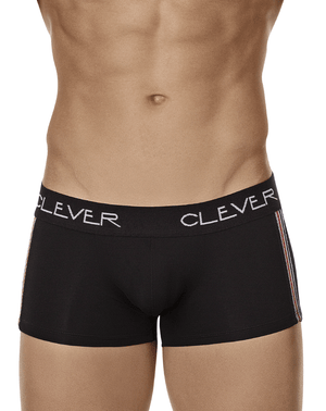Clever 2401 Vibes Latin Boxer Briefs Black