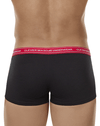 Clever 2402 Senses Latin Boxer Briefs Black - StevenEven.com