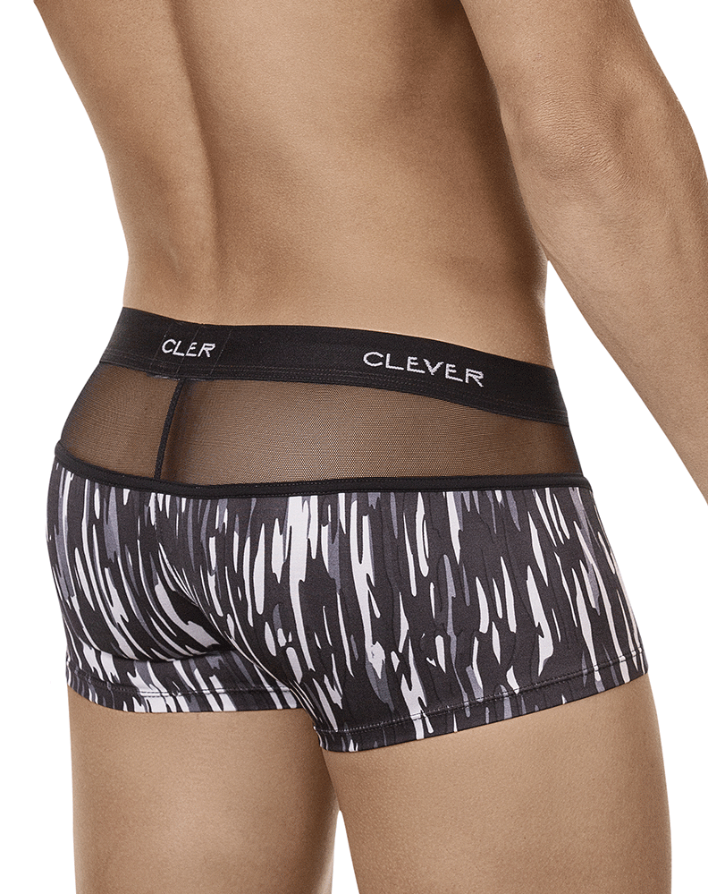 Clever 2403 Provocation Latin Boxer Briefs Gray - StevenEven.com