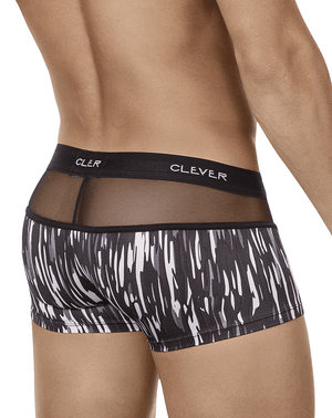 Clever 2403 Provocation Latin Boxer Briefs Gray