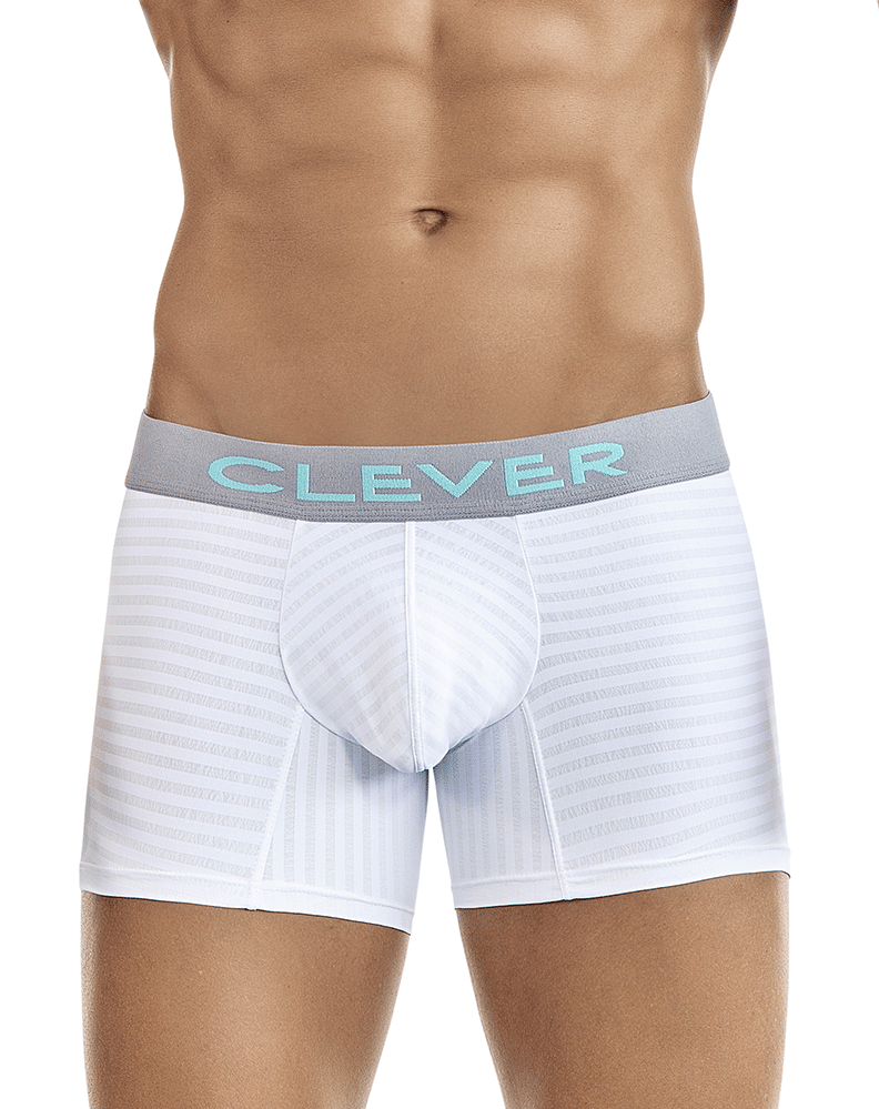 Clever 2432 Motivation Boxer Briefs White
