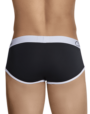 Clever 5016 Pertinax Piping Briefs Black - StevenEven.com