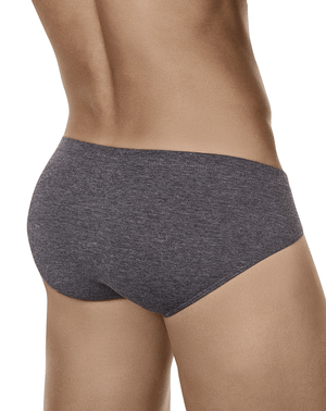 Clever 5026 Beats Latin Briefs Dark Gray - StevenEven.com