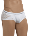Clever 5386 Glamour Piping Briefs White