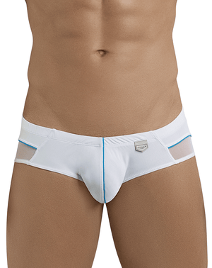 Clever 5388 Plush Latin Briefs White