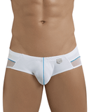 Clever 5388 Plush Latin Briefs White - StevenEven.com