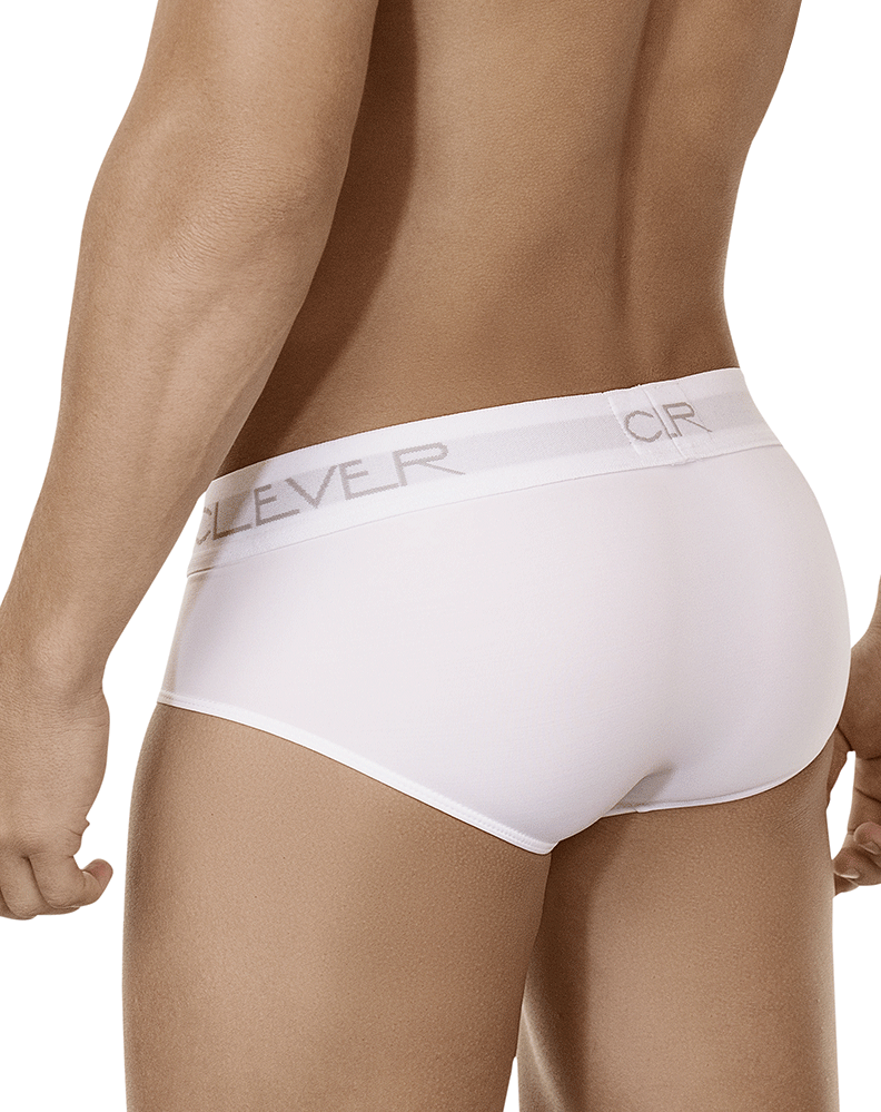 Clever 5401 Vibes Briefs White - StevenEven.com