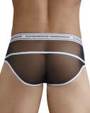 Clever 5374 Asian Piping Briefs Black