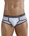 Clever 5374 Asian Piping Briefs White