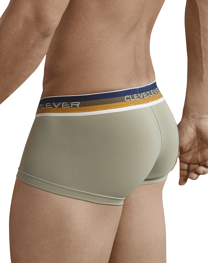 Clever 2368 Cambodian Latin Boxer Briefs Gold
