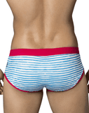 Clever 0653 Contemporary Swim Briefs Blue