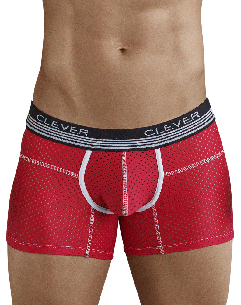Clever 2365 Danish Boxer Briefs Red - StevenEven.com