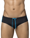 Clever 0652 Darkling Swim Briefs Black