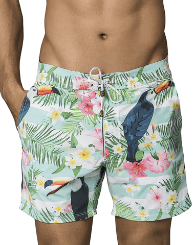 Hawai 51806 Swim Trunks Red