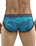 Clever 5218 Irresistible Piping Briefs Blue