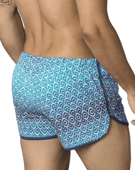 Clever 0661 Mask Swim Trunks Blue