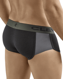 Clever 2360 Pleasure Cheeky Boxer Briefs Black