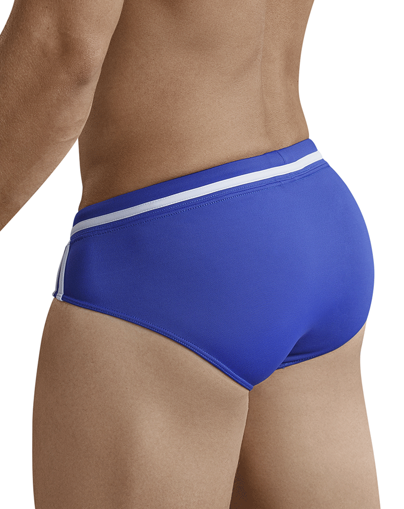 Clever 0668 Pool Party Swim Briefs Blue