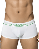 Clever 2353 Radical Latin Boxer Briefs White