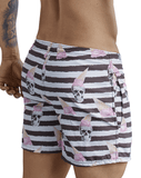 Clever 0672 Skulls Atleta Swim Trunks White