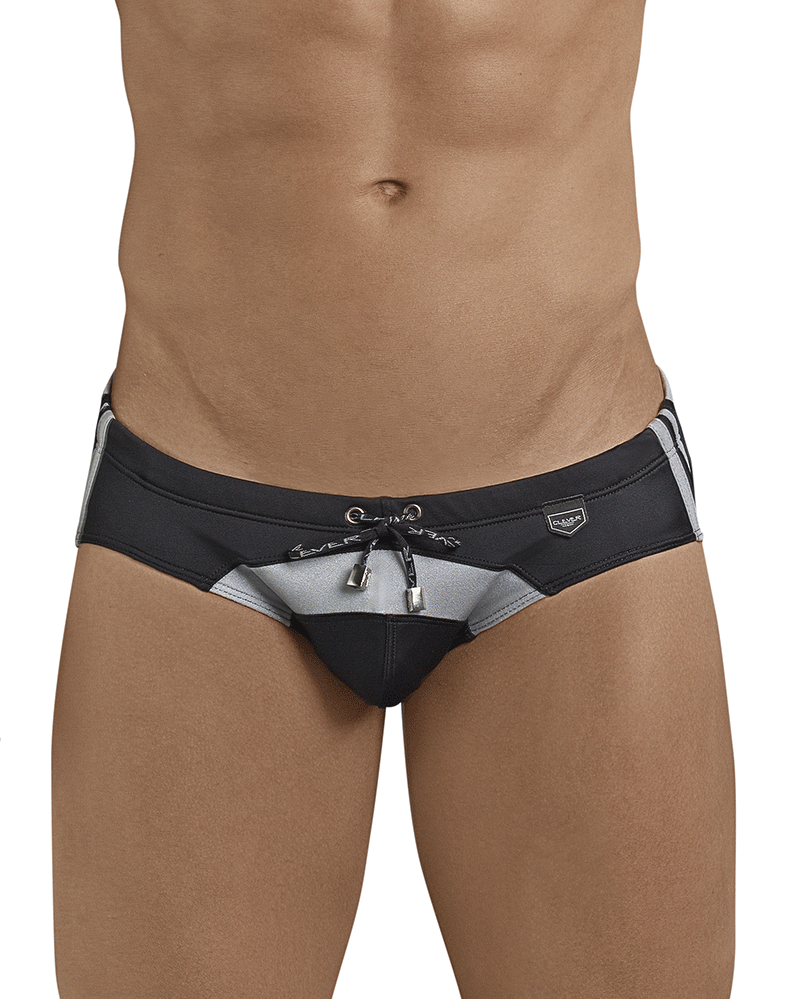 Clever 0680 Big Thing Swim Briefs Silver