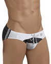 Clever 0680 Big Thing Swim Briefs Black - StevenEven.com