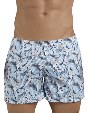 Clever 0683 Cockatoos Atleta Swim Trunks Blue