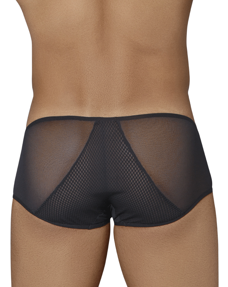 Candyman 99323 Sheer Briefs Black - StevenEven.com
