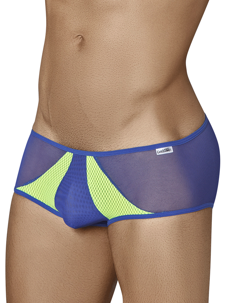 Candyman 99323 Sheer Briefs Navy
