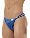 Candyman 99421 Lace G-string Thongs Blue