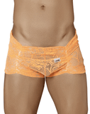 Candyman 99320 Lace Boxer Briefs Orange