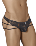Candyman 99318 Lace Briefs Black - StevenEven.com
