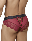 Candyman 99319 Lace Briefs Burgundy