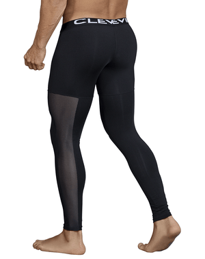 Clever 0318 Astist Athletic Pants Black