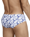 Clever 0700 Taun Swim Briefs  White