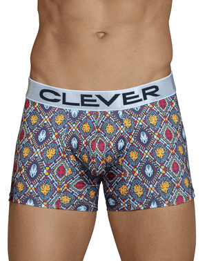 Clever 2442 Tradition Boxer Briefs Blue