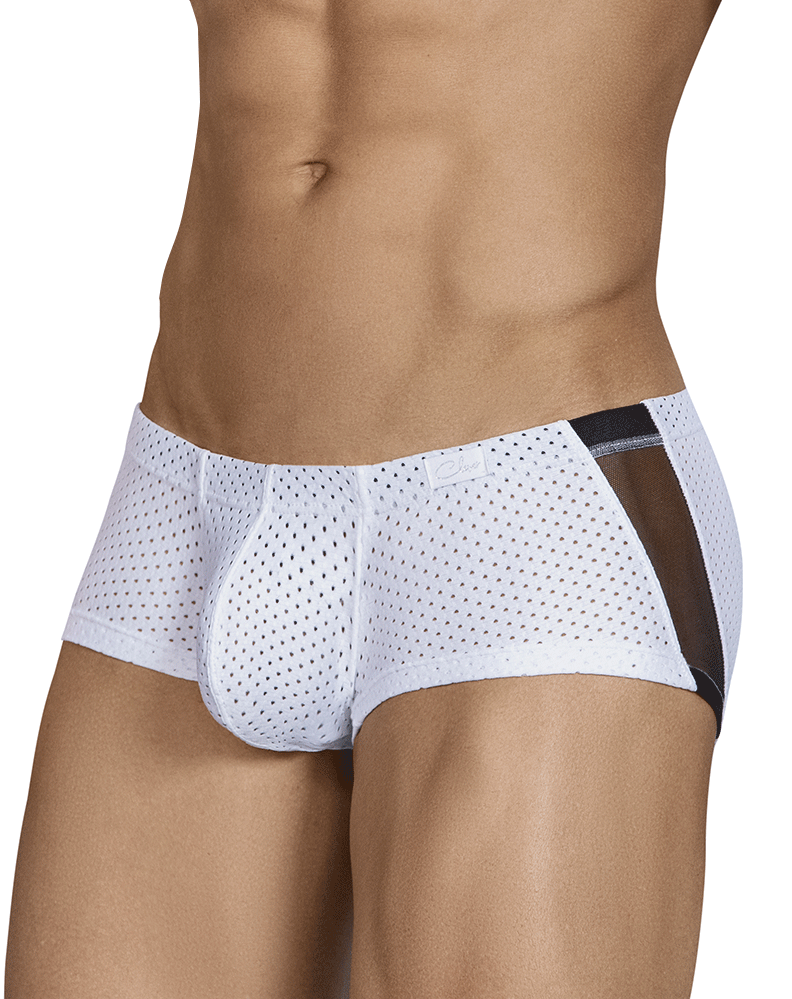 Clever 2443 Boias Latin Boxer Briefs White