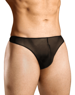Doreanse 1320-blk Sexy Sheer Thong Black