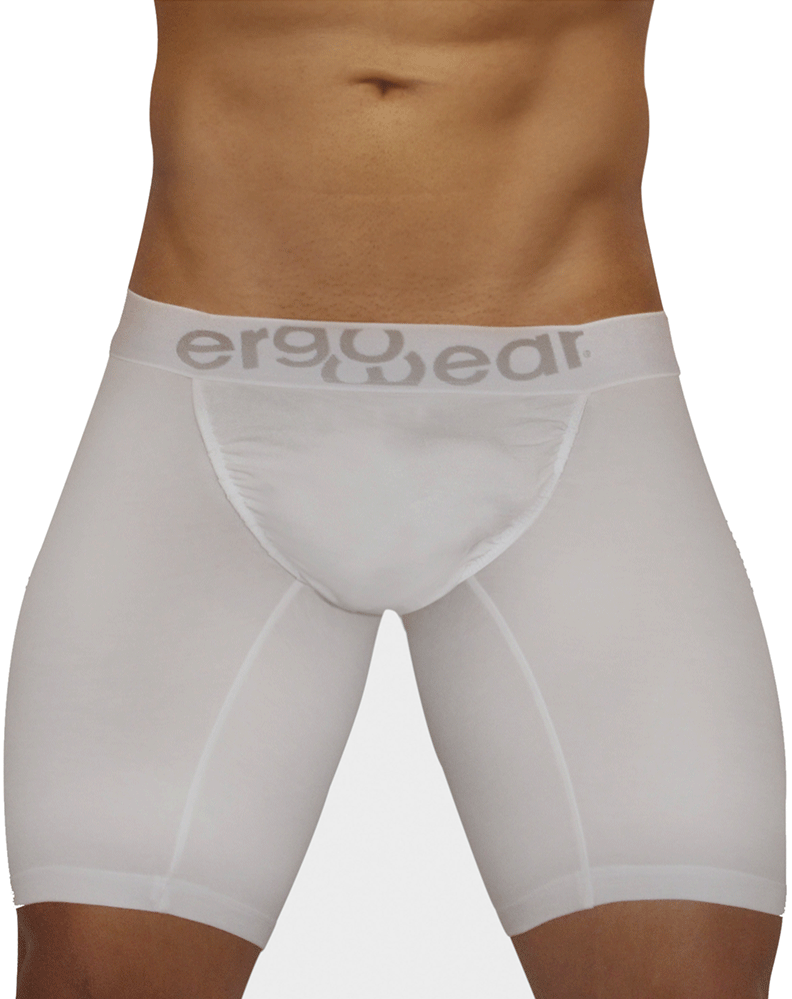 Ergowear Ew0708 Feel Modal Long Boxer Briefs White
