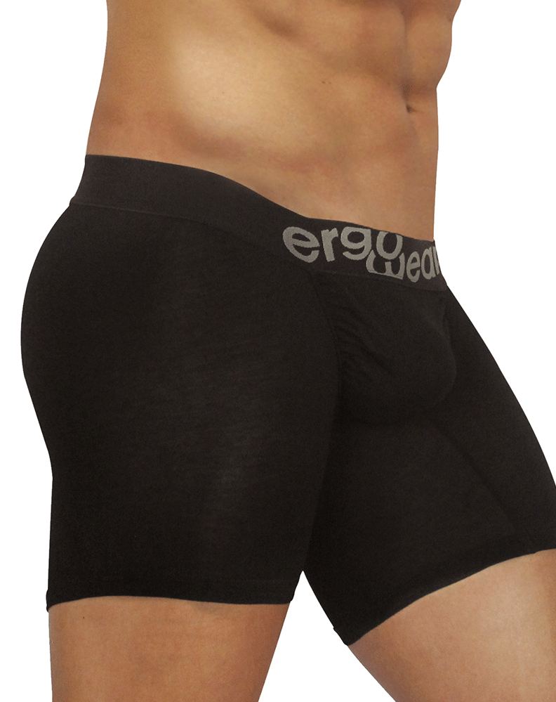 Ergowear Ew0711 Feel Modal Long Boxer Briefs Black