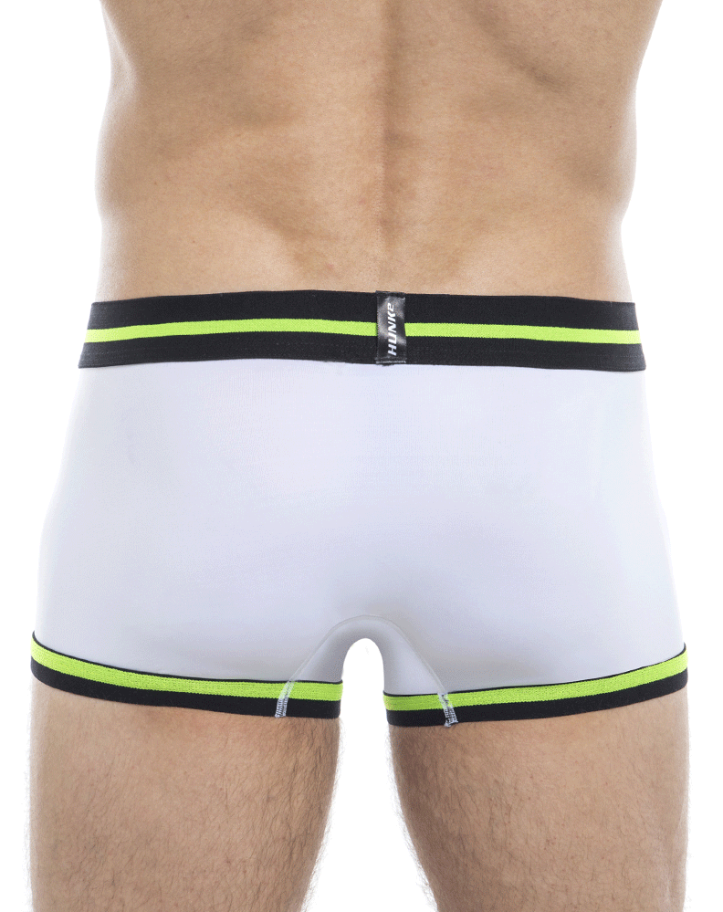 Hunk2 Tr2020b Alphae Neon² Trunks White