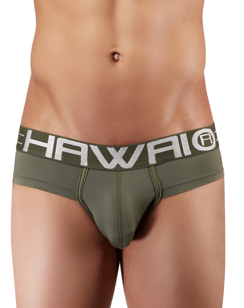 Hawai 41945 Briefs Military Green