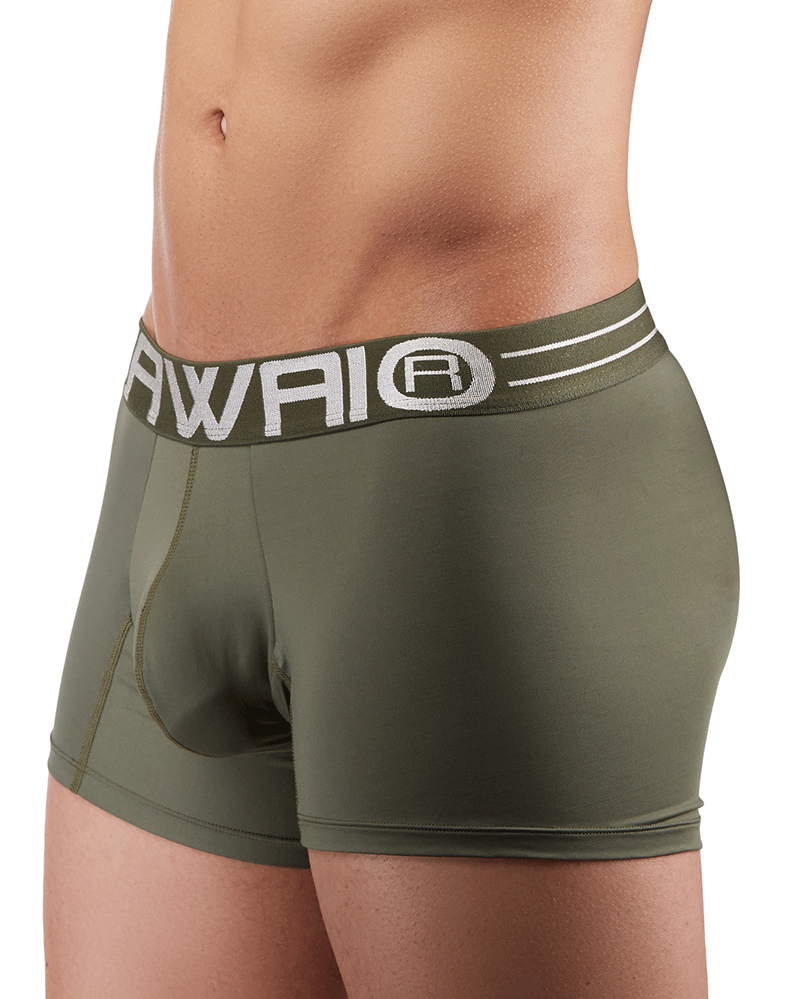 Hawai 41948 Boxer Briefs  Military Green - StevenEven.com