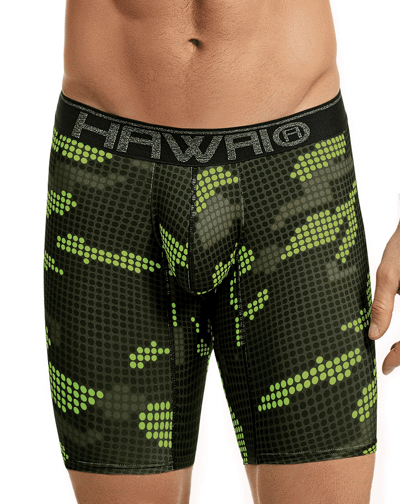 Hawai 41803 Boxer Briefs Green - StevenEven.com
