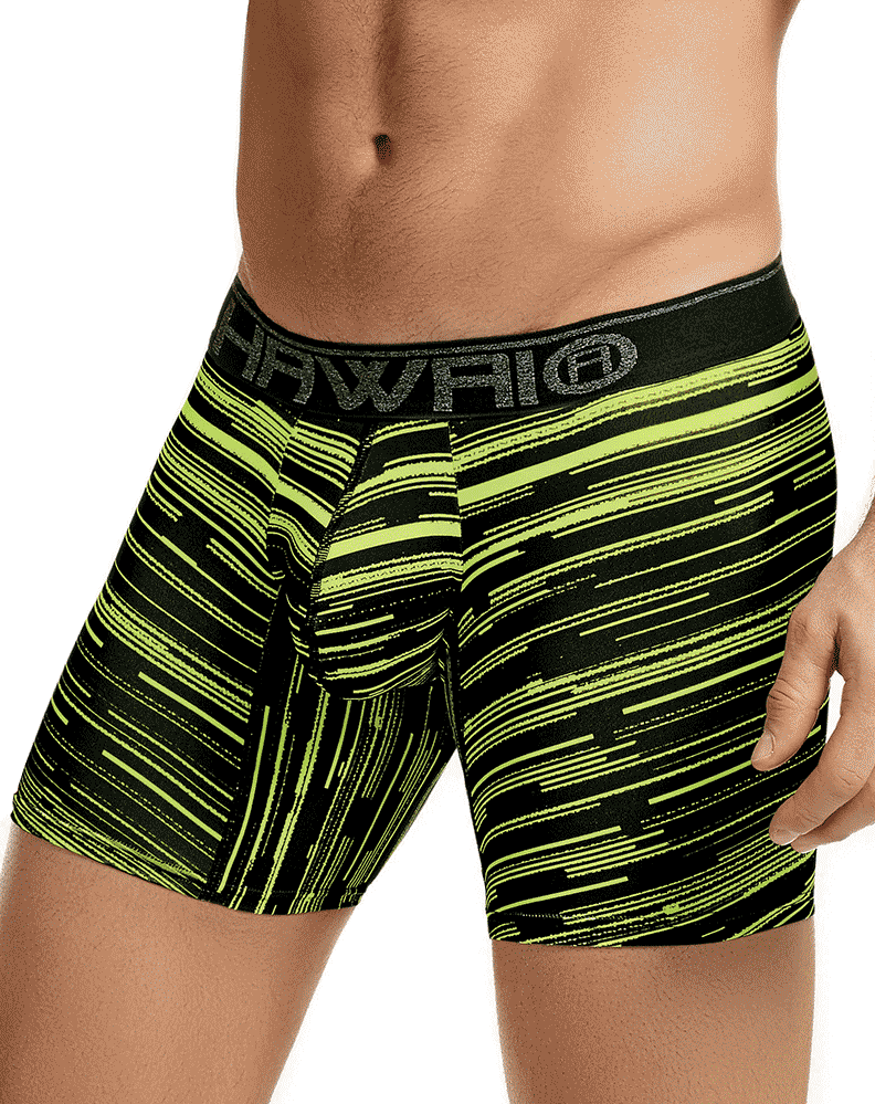 Hawai 41807 Boxer Briefs Green - StevenEven.com